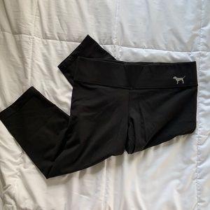 PINK Black Capri Leggings
